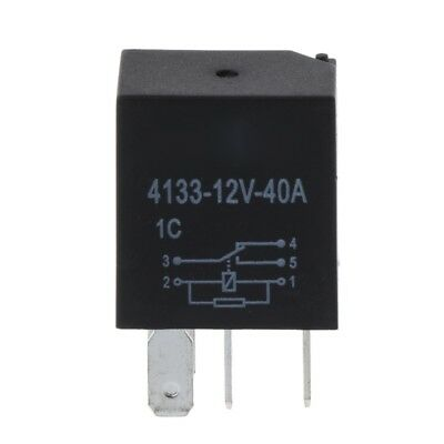 12V 40A Automotive 5 Pin Relay Long Life Time Delay Automotive Relays For Car