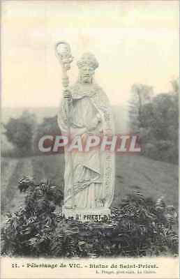 CPA 11 pelerinage de vic statue de saint priest