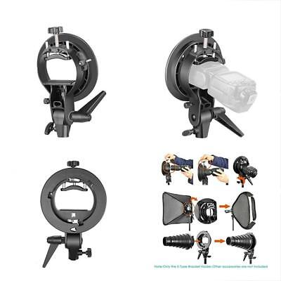 Shoe Mounts S-Type Bracket Holder With Bowens For Speedlite Flash Snoot Softbox