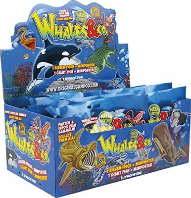 TOP Whales & Co MAXXI Edition Sammelfiguren DeAgostini 1 x Display - 16 Booster