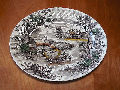 Yorkshire Platter, Made in Staffordshire, England - Genuine hand-engraved