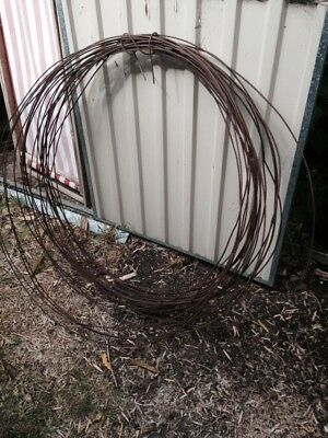 Vintage Garden Rusty Wire Bundles Wedding , Veggie Patch, Garden Craft