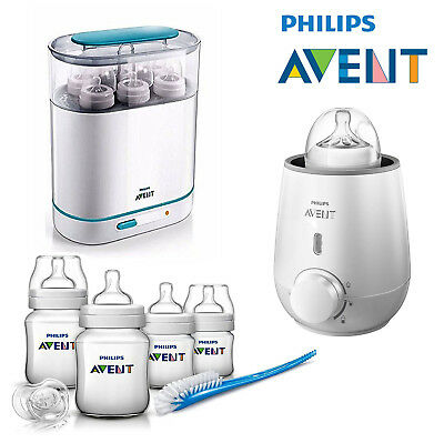 Philips AVENT 3-in-1 Electric Steam Steriliser or Bottle Warmer or Starter Set