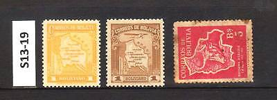 Bolovia - Stamps From An Old Collection (S13-19)