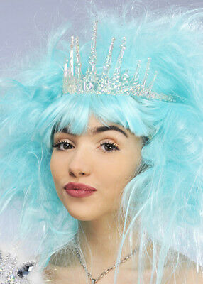The Snow Queen Style Icicle Ice Crown Tiara