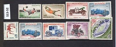 Monaco - Stamps From An Old Collection (S13-52)