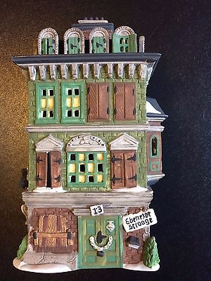 "Dept 56 Dickens' Village Series ""The Flat of Ebenezer Scrooge"" #5587-5 Retired"