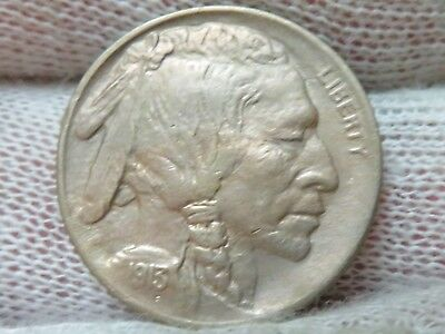 1913 type 1 Uncirculated buffalo nickel And Free Shipping