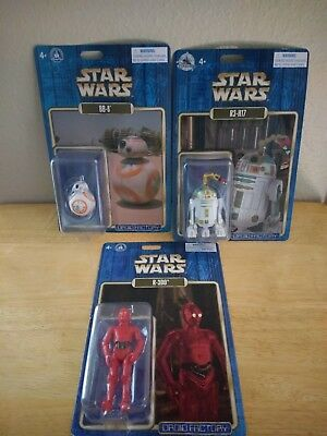 NEW Star Wars Disney Parks Exclusive Droid Factory R-3D0 BB-8 & R3-H17 NEW