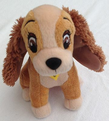 Disneys Lady & The Tramp Soft Toy