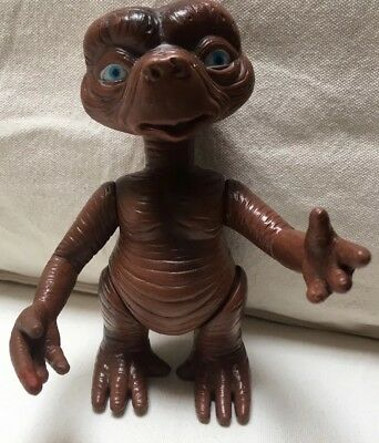 "Vintage Et The Extra-Terrestrial Movable 5.5"" Toy Film Figure"