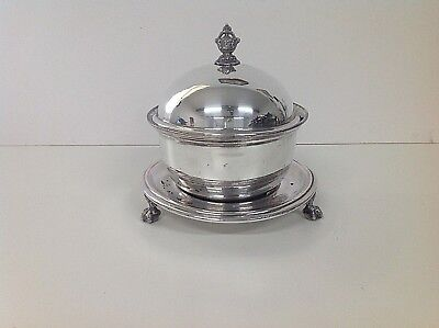 Victorian Sheffield SILVER PLATED Muffin Dish in classic style