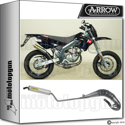 Arrow Hom Full Exhaust Slip-On Round Titanium Derbi Drd Edition 50 Sm 2006 06