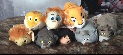 Disney Store Complete Set Of The Jungle Book Tsum Tsums With Tags