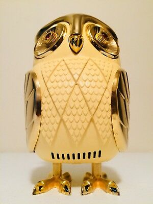 VINTAGE 60s MINT OLD EAMES ERA PANTON MIDNIGHT OWL ART DECO ANTIQUE RADIO