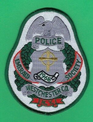 Westchester County Police Emerald Society Patch ~ New York ~ Very Nice Design