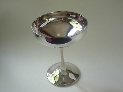 LOT 6 x F B ROGERS SILVER PLATED VINTAGE CHAMPAGNE TOASTING ELEGANT GOBLETS F801