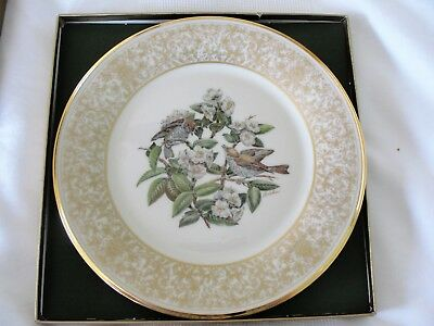 Lenox Annual Limited Edition. Boehm Bird Plates - 1970 Wood Thrush