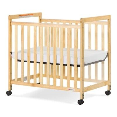 Foundations SafetyCraft® Baby Crib Compact Fixed-Side adjustable Mattress Board