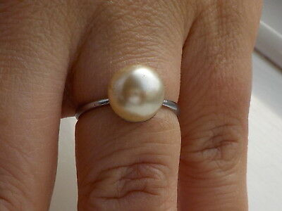 Faux Pearl Ring Metal Detecting Find.