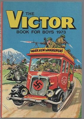 The Victor Book for Boys 1973 (Hardback Annual)