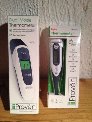 Proven - Digital Thermometer Bundle New