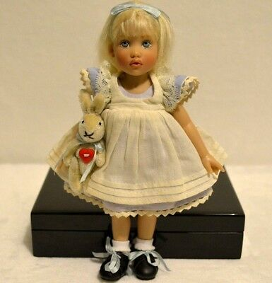 "Riley Kish Doll Alice In Wonderland 7.5"" Limited Edition Of Only 210 Made"