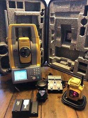 Topcon 3 PS-103A Robotic Total Station Package Excellent condition