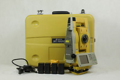 Topcon GPT9003A 3? Reflectorless Robotic Total Station, We Export!
