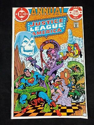 Justice League of America Annual #1 1983 DC Comics