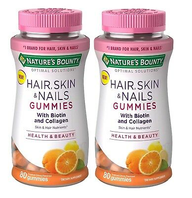 Nature S Bounty Hair Skin Nails With Biotin Collagen