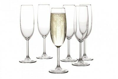 Maxwell & Williams Cuvee Champagne Flutes, Set of 6, 160ml. Maxwell Williams