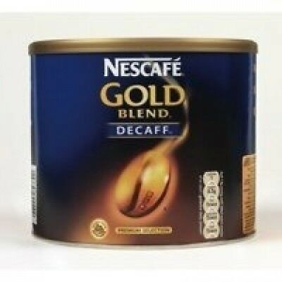 Nescafe Gold Blend Decaf Instant Coffee Tin 1x500g. Shipping is Free