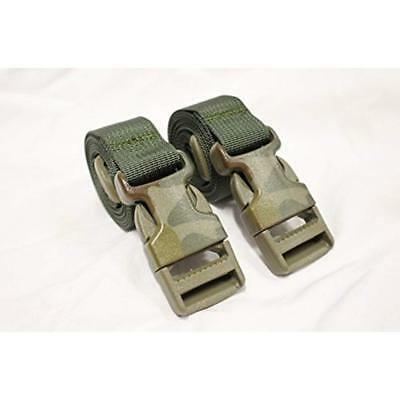 Molle Backpack Accessory Straps - Quick Release Buckle (Olive Drab (Camo & Spec