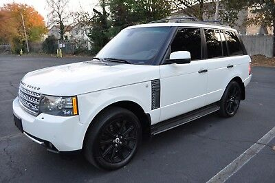 2010 Land Rover Range Rover SUPERCHARGED 2010 RANGE ROVER SUPERCHARGED FULLY LOADED 50K MILES ONLY! WHITE ON BLACK MINT