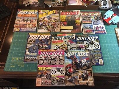 1995 Dirt Bike Magazine 10 Issues All Except May and Oct Vintage Motocross MX