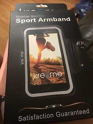 Kre Me Adjustable Velcro Sports Band For Iphone 6