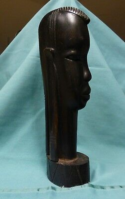 Ghana Aboriginal  African Tribal  Carved Statue-Ebony wood-heavy