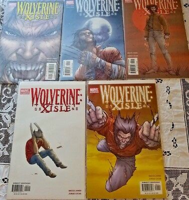 Wolverine Xisle: Complete Weekly Limited Series #1 - #5        Marvel Comics
