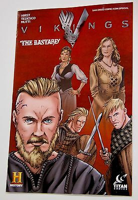 NEW Vikings The Bastard Comic SDCC Comic Con Exclusive Special Edition History