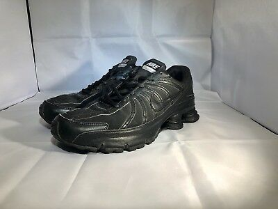 new arrival 2b627 f5717 Nike Shox Turbo Mens Size 11 Running Shoes black on black 325447-005