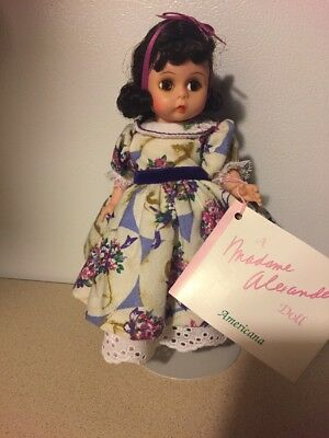 Vintage Madame Alexander Doll Mother's Day Americana Collection