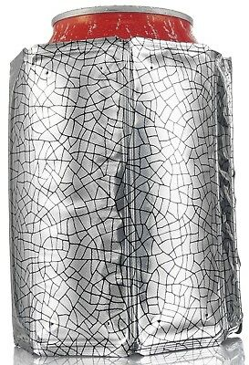 (set of 1) - Vacu Vin Rapid Ice Can Cooler - Silver. Free Shipping