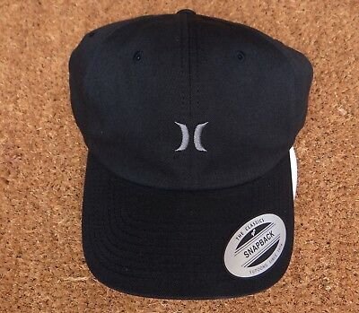 SURFING HURLEY CHILLER Mens Strap Dad Snapback Hat One Size Fit Most ... 802262d89c1