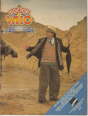 RARE: Doctor Who Magazine 30th Anniversary Special. Highly recommended!