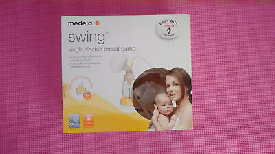medela swing single electric breast pump with calma teat excellent condition