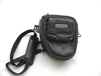Genuine Fujifilm Premium Black Leather Bridge Camera Case/bag For S9500 S9600