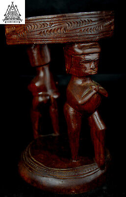 Stunning Fine Massim Stool, Trobriand Islands , PNG, Papua New Guinea