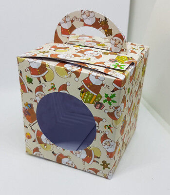 Christmas Themed Cup cake boxes