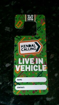 Kendal Calling Live-in Vehicle Ticket